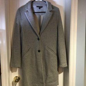 Zara TRF Long Grey Outerwear